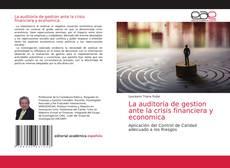 Buchcover von La auditoria de gestion ante la crisis financiera y economica