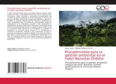 Portada del libro de Procedimiento para la gestión ambiental en el hotel Iberostar Ordoño