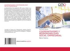 Capa do livro de COOPERATIVISMO Y RESPONSABILIDAD SOCIAL EMPRESARIAL