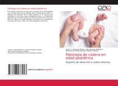 Capa do livro de Patología de cadera en edad pediátrica