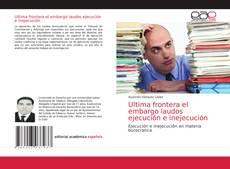 Portada del libro de Ultima frontera el embargo laudos ejecución e inejecución