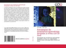 Bookcover of Estrategias de enseñanza-aprendizaje dirigidas a niños con DI leve