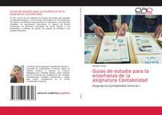 Buchcover von Guìas de estudio para la enseñanza de la asignatura Contabilidad