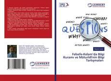 Felsefe-Kelam'da Bilgi Kuramı ve Mâturîdî'nin Bilgi Tartışmaları kitap kapağı
