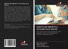 Portada del libro de DIRITTO DEI BREVETTI E ACCESSO ALLA SALUTE