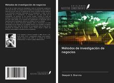 Обложка Métodos de investigación de negocios