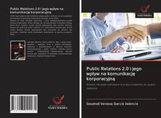 Portada del libro de Public Relations 2.0 i jego wpływ na komunikację korporacyjną