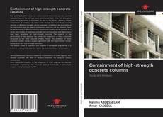 Portada del libro de Containment of high-strength concrete columns