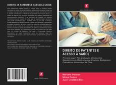 Capa do livro de DIREITO DE PATENTES E ACESSO À SAÚDE