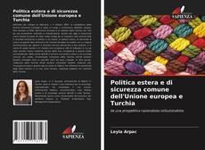 Portada del libro de Politica estera e di sicurezza comune dell'Unione europea e Turchia