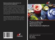 Buchcover von Phytoconstituents Notevolezza del Rhynchotechum ellipticum