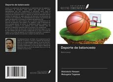 Capa do livro de Deporte de baloncesto