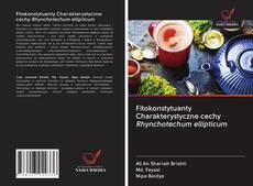 Buchcover von Fitokonstytuanty Charakterystyczne cechy Rhynchotechum ellipticum