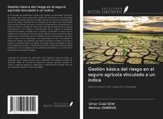 Bookcover of Gestión básica del riesgo en el seguro agrícola vinculado a un índice
