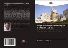 Portada del libro de Un pharaon libyen s'est emparé d'Israël en 925 av.
