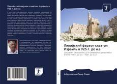 Portada del libro de Ливийский фараон схватил Израиль в 925 г. до н.э.