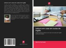 Capa do livro de Leitura em casa em aulas de inglês