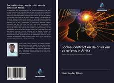 Borítókép a  Sociaal contract en de crisis van de erfenis in Afrika - hoz