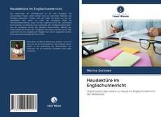 Bookcover of Hauslektüre im Englischunterricht