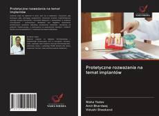 Обложка Protetyczne rozważania na temat implantów