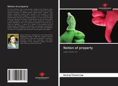 Bookcover of Notion of property