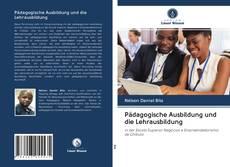 Bookcover of Pädagogische Ausbildung und die Lehrausbildung
