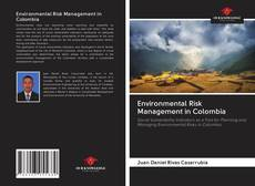 Bookcover of Environmental Risk Management in Colombia