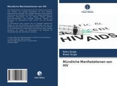 Mündliche Manifestationen von HIV kitap kapağı
