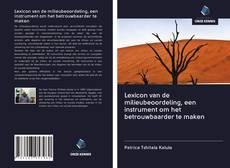 Borítókép a  Lexicon van de milieubeoordeling, een instrument om het betrouwbaarder te maken - hoz