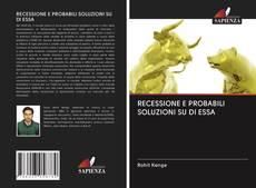 Обложка RECESSIONE E PROBABILI SOLUZIONI SU DI ESSA