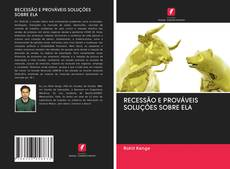 RECESSÃO E PROVÁVEIS SOLUÇÕES SOBRE ELA kitap kapağı