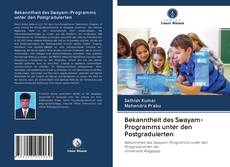 Обложка Bekanntheit des Swayam-Programms unter den Postgraduierten