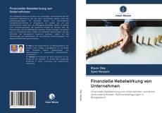 Capa do livro de Finanzielle Hebelwirkung von Unternehmen