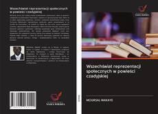 Copertina di Wszechświat reprezentacji społecznych w powieści czadyjskiej