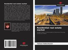 Bookcover of Residential real estate market