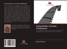 Portada del libro de Interprétation marxiste d'Hollywood