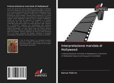 Bookcover of Interpretazione marxista di Hollywood