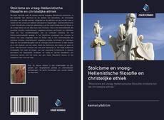 Capa do livro de Stoïcisme en vroeg-Hellenistische filosofie en christelijke ethiek