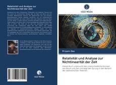 Capa do livro de Relativität und Analyse zur Nichtlinearität der Zeit