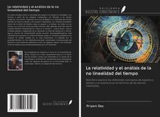 Portada del libro de La relatividad y el análisis de la no linealidad del tiempo
