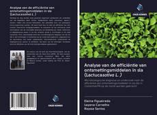 Borítókép a  Analyse van de efficiëntie van ontsmettingsmiddelen in sla (Lactucasativa L. ) - hoz