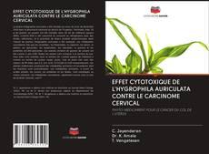 Обложка EFFET CYTOTOXIQUE DE L'HYGROPHILA AURICULATA CONTRE LE CARCINOME CERVICAL