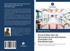 Couverture de Kurze Artikel über die Vermarktung von technischen Produkten und Dienstleistungen