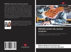 Borítókép a  IDEXUD rental risk control program - hoz