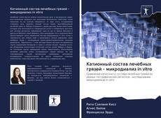 Bookcover of Катионный состав лечебных грязей - микродиализ in vitro
