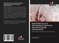 Copertina di NANOPARTICELLE DI BIOCERAMICA SOSTITUITE PER APPLICAZIONI ORTOPEDICHE