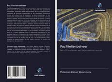 Buchcover von Faciliteitenbeheer