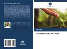 Copertina di Grünes Unternehmertum