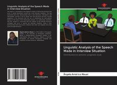 Buchcover von Linguistic Analysis of the Speech Made in Interview Situation