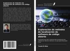 Bookcover of Exploración de métodos de localización de software de código abierto